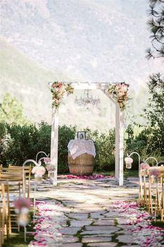 Svatba vboho stylu: přirozená a uvolněná