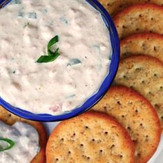 Real shrimp create this savory dip recipe, perfect for crackers, vegetables and more.