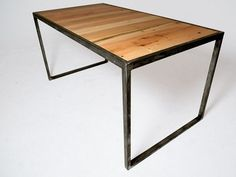 Simple, Lovely Furniture Is Made from Salvaged NYC Wood by Yorkwood Furniture Company