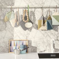 This chic and practical Spear Tray was designed for the Danish label ferm LIVING.ferm LIVING was founded by Trine Anderson in Unable to find the kind of g Ferm Living Wallpaper, Turbulence Deco, Burke Decor, House Doctor, Cuisines Design, Deco Design, Design Trends, Design Ideas, Danish Design