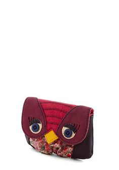 Owl of Your Change Wallet, #ModCloth