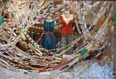 Who doesn't love Anthropologie's window displays?