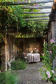 Tuscany :: pergola I love patios and pergolas!