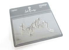 New Together Stamp, Stamp Crafts, Stationary Crafts, Paper Stamping, Scrap Booking