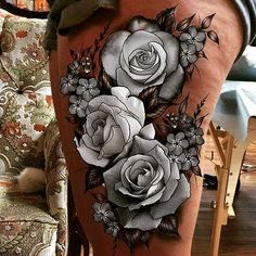 White roses tattoo tattoo tattoos, rose tattoos и white rose Badass Tattoos, Sexy Tattoos, Body Art Tattoos, Sleeve Tattoos, Tattoos For Women, Cool Tattoos, Tattos, Jewel Tattoo, Lace Tattoo