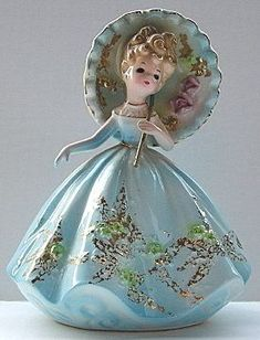 Josef Originals Figurine Parasol Lady