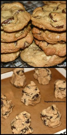 mrs. field's chocolate chip cookies with a twist are the best puffy cookies
