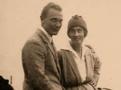 Hermann Göring and his first wife Carin