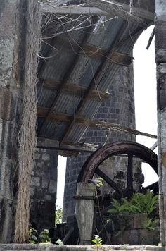 Old Sugar Mill, in #Nevis. So much history and amazingly well-built structures from the sugar plantation days.