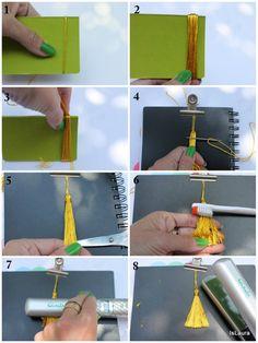 Come fare delle nappine perfette : islaura