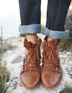 Lace-up boot by TOAST