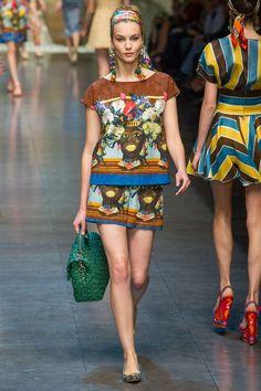 Dolce & Gabbana Printemps-été 2013|36