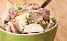 Epicure's Lemon Dilly Potato Salad - the best potato salad ever! I add about a tsp Epicure's Herb & Garlic dip mix. Epicure Recipes, Healthy Recipes, Salad Recipes, Drink Recipes, Epicure Cheese Dip, Epicure Steamer, Good Food, Yummy Food, Thing 1