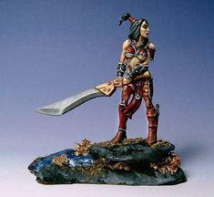 Confrontation Fianna / Female sword fighter