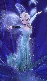 """""""Photo of Elsa for fans of Disney Frozen. Frozen (2013)."""" This was my favorite part, such a beautiful sequence and Let it Go is the best!!"""
