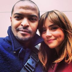 Mickey Smith and Clara Oswald - Noel Clarke and Jenna Coleman