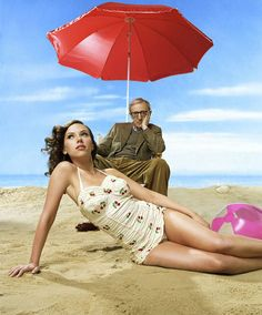 Woody Allen e Scarlett Johansson