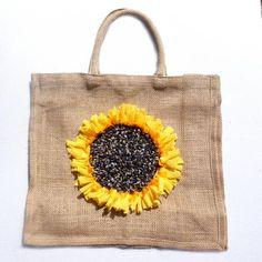 Hessian Rag Rug Ping Bag