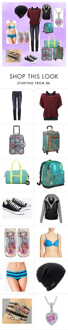 """Beginning of Infinity #1"" by cherokeejune ❤ liked on Polyvore featuring Tory Burch, Vera Bradley, Sakroots, Steve Madden, Hot Tuna, Converse, DKNY, Jennifer Moore and Coal"