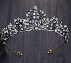 Vintage Royal Bridal Crown Crystals Wedding Tiaras Headbands Bridal Accessories  | eBay