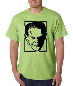 Frankenstein's Monster Inspired Black Vinyl on by MasquedMinis