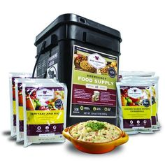60 Serving Entree Grab and Go Food Kit
