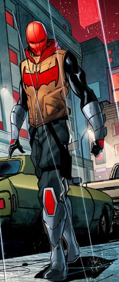 Jason Todd in Red Hood/Arsenal #004 - I don't really like this storyline.