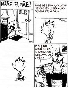 calvin and hobbes humour en Français Calvin And Hobbes Comics, Calvin And Hobbes Quotes, Haha Funny, Funny Memes, Hilarious, Lol, Snoopy And Charlie, Charlie Brown, Funny Cartoons