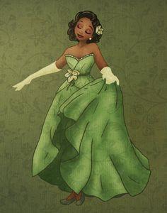 designer princess Tiana   Tumblr