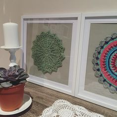 simone_steinert - Yeah these framed mandalas are definitely going to be a thing in this household  #framedmandala #mandala #crochetmandala #crochet #crocheted #crocheting #mandalawheel #puffsandpicotsmandala #framed #wallart #crocheting #love #cute #pretty #handmade #diy