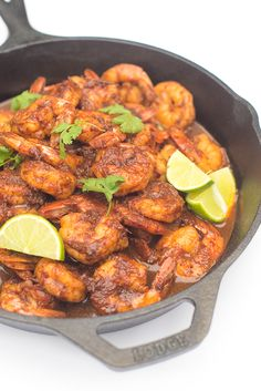Tequila Lime Shrimp - a fast dinner recipe