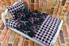 American Girl Doll Bedding Set Handmade from 2KrazyLadies.com