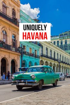 Havana, Cuba is like no other place on earth. You will be surprised by the wonderfully hard working people and the culture that exists there. From the food to the music and art you will find yourself wanting to stay and be part of this Caribbean island.  #Havana #Cuba
