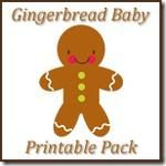 Gingerbread Baby Lapbook and Printables