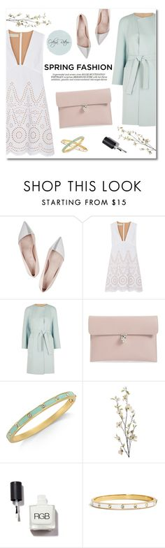 """Ready for spring"" by odeya-rotem ❤ liked on Polyvore featuring Giambattista Valli, STELLA McCARTNEY, MaxMara, Alexander McQueen, Whiteley, Kate Spade, Pier 1 Imports, Spring, pastel and SpringStyle"
