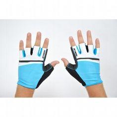Guantes #ciclismo cortos 5 azul Decathlon. http://www.decathlon.es/guantes-cortos-ciclismo-5-azul-id_8199924.html