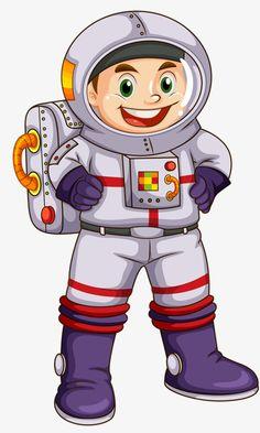 Happy astronaut, The Man, Astronaut, Hero PNG Image