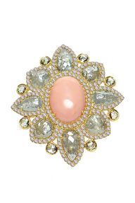 A Brooch from the Estate of Jacqueline Kennedy Onassis Bride Accessories, Jewelry Accessories, Jewelry Design, High Jewelry, Modern Jewelry, Jewelry Box, Photo Jewelry, Fashion Jewelry, Rose Pale