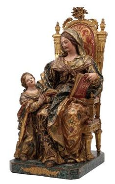 Blessed Mother Mary, Blessed Virgin Mary, Madonna, Mama Mary, St Anne, Church Architecture, European Paintings, Catholic Saints, Holy Family