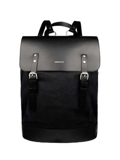 The Sandqvist Hege Rucksack combines urban practicality with minimalist design with this backpack from Scandinavian brand Sandqvist. Featuring a leather trim and embossed branding, it features a laptop compartment and internal zip pocket.