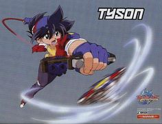 Tyson granger dragoon bit beast beyblade pinterest beyblade characters anime and manga - Beyblade driger wallpaper ...