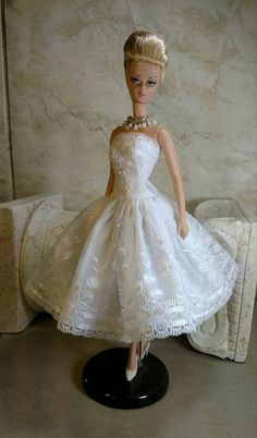 White As A Whisper fits Silkstone Barbie, Poppy Parker and FR2 Fashion Royalty