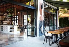 The Grounds of Alexandria café by Caroline Choker, Sydney
