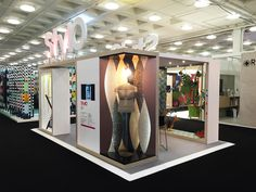 Stylographics stand at the Retail Design Expo 2015 #graphics #print #retail #interiors #museums #3D #visualmerchandising