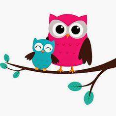 Mundo do Aroma Owl Crafts, Paper Crafts, Decoration Creche, Owl Clip Art, Owl Nursery, Owl Family, Owl Bird, Cute Owl, Fabric Painting