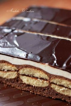 Sweets Cake, Cupcake Cakes, Sweet Recipes, Cake Recipes, Icebox Cake, Polish Recipes, Confectionery, Catering, Sweet Tooth