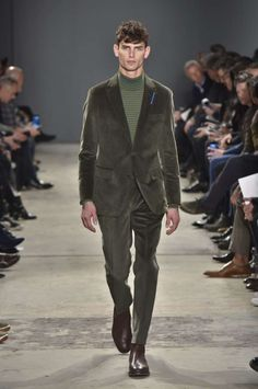 Male Fashion Trends: Todd Snyder Fall-Winter 2017 - New York Fashion Week Men's
