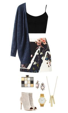 """Landul"" by tekla-476 ❤ liked on Polyvore featuring Erdem, Gianvito Rossi, Topshop, Lauren Ralph Lauren, Halston Heritage, BaubleBar and Larsson & Jennings"