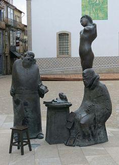 Modern Sculpture, Barcelos, Portugal
