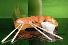 Sushi and sake...a combo made in heaven!